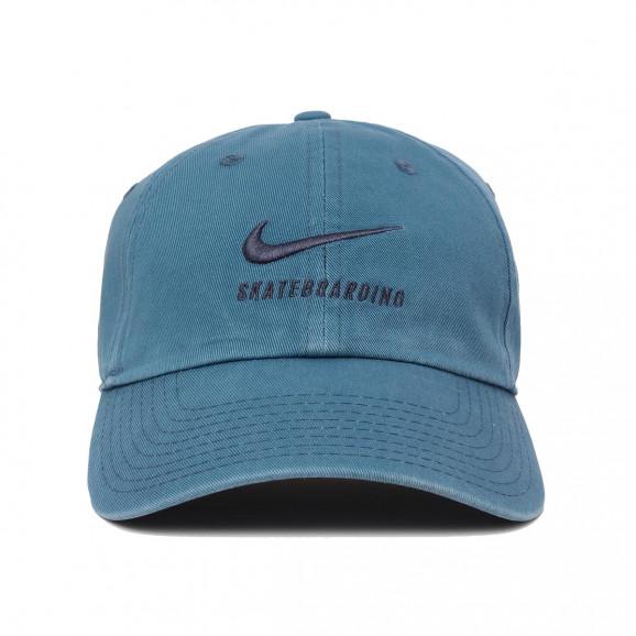 Boné Nike SB Aba Curva - Heritage 86 Twill Azul 9bfbb62ff0e3f