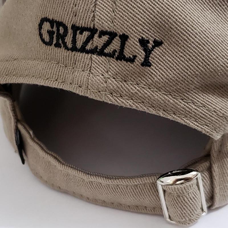 ... Boné Grizzly Aba Curva - OG Bear Logo Dead Hat Khaki. prev. next 3d091a68004