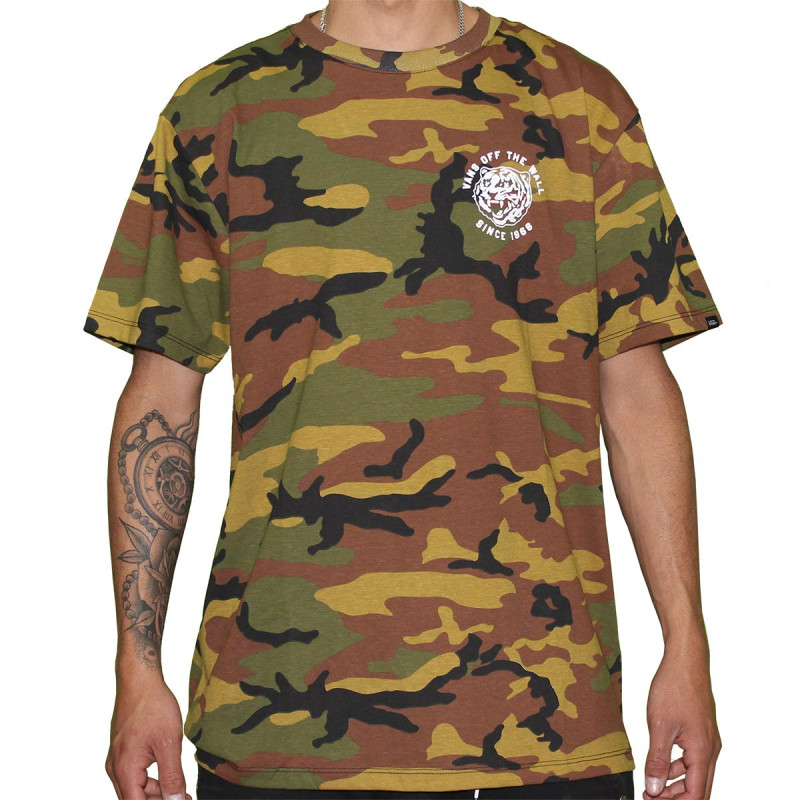 100244b6 Camiseta Vans - Coach Murphy Camo