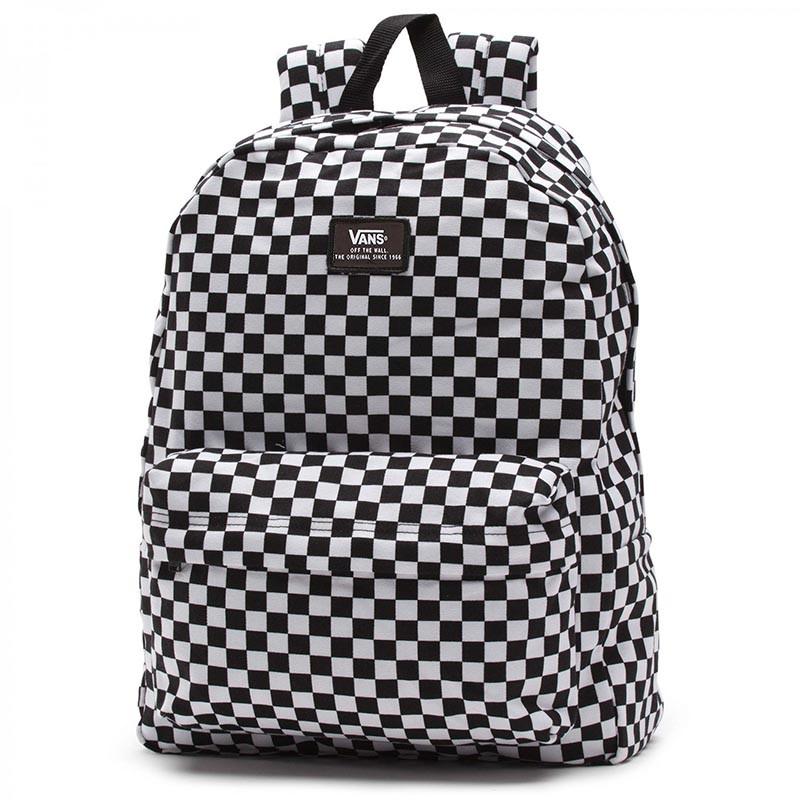 Mochila Vans - Old Skool II Backpack Black White Check bd20470aeb5