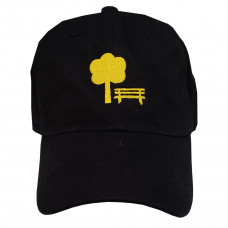 Boné Plaza Aba Curva - Dadcap Black/Yellow
