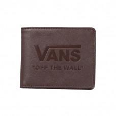 Carteira Vans - Logo Wallet Marrom