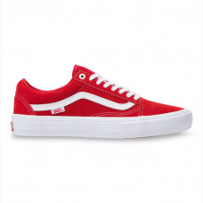 Tênis Vans - Old Skool Pro (Suede) Red/White