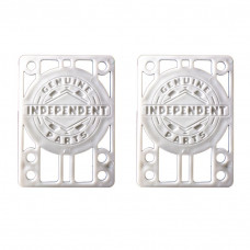"""Pads Independent - Genuine Riser Pads 1/4"""" White"""