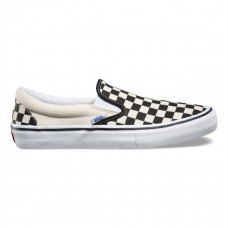 Tênis Vans - Slip-On Pro (Checkerboard) Black/White